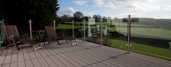Seeing Through Barriers With Frameless Balustrades