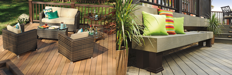 Capped composite decking the future of decking technology for What is capped composite decking