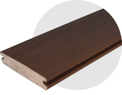 EasyClean Tropical Walnut Decking