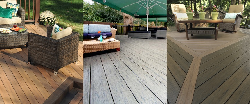 Capped composite decking what can timbertech offer