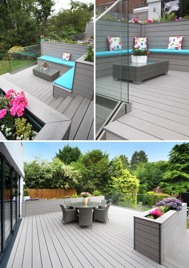 Garden decking designs a few of our favourites for Garden decking ideas uk