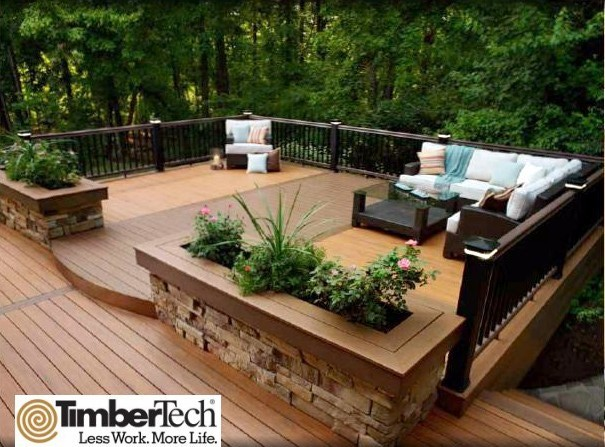 3 ways to deck out your garden decking for Garden decking designs uk