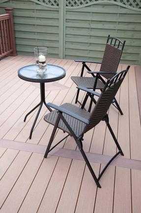 Advantages of composite decking.