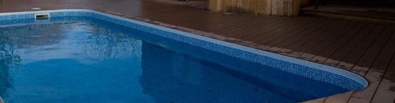 Swimming pool deck surround