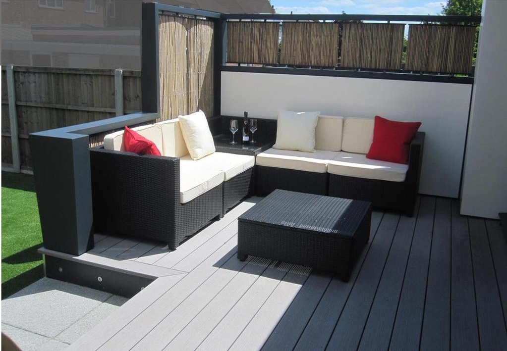 Garden design with TimberTech composite decking