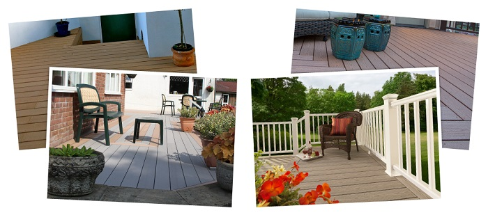 Composite decking sale