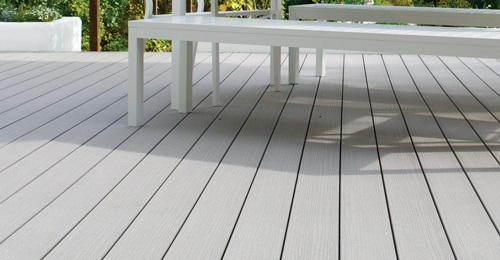 VertiGrain Grey Garden Decking