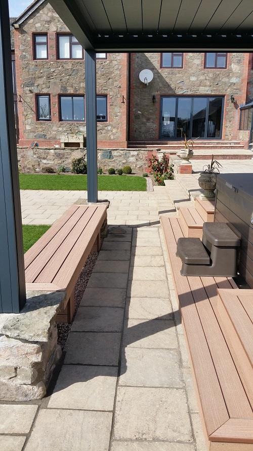 Cedar deck 1