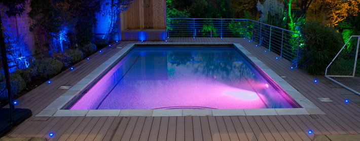 composite decking lighting