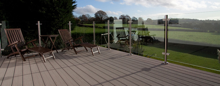 roof balcony decking