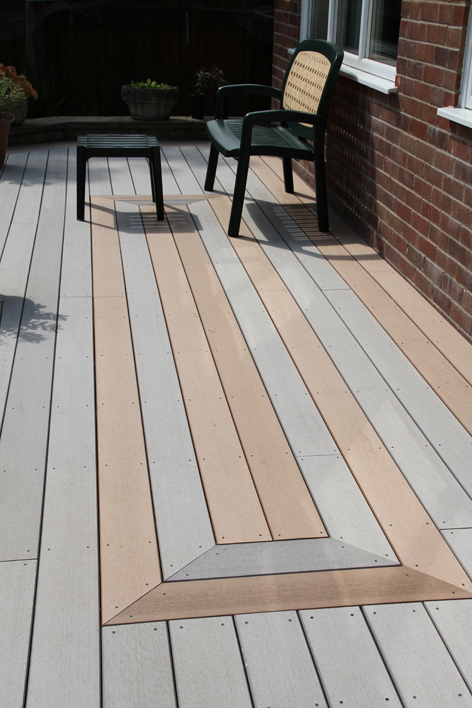 What is the difference between capped and traditional for Alternative to decking