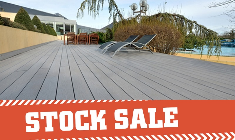 Clearance decking boards