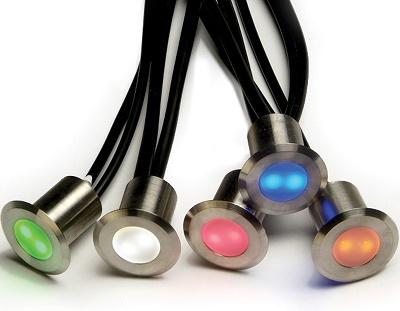 Coloured deck lights