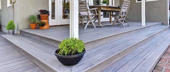 Ashwood decking
