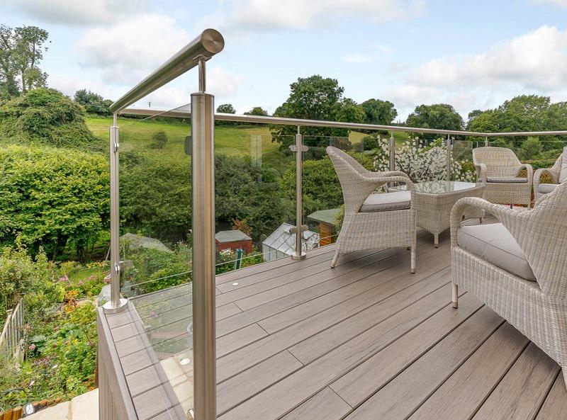 composite decking balcony