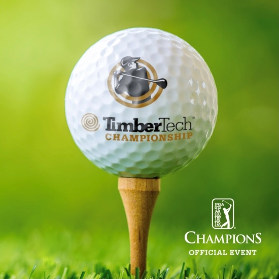 TimberTech Championship golf ball