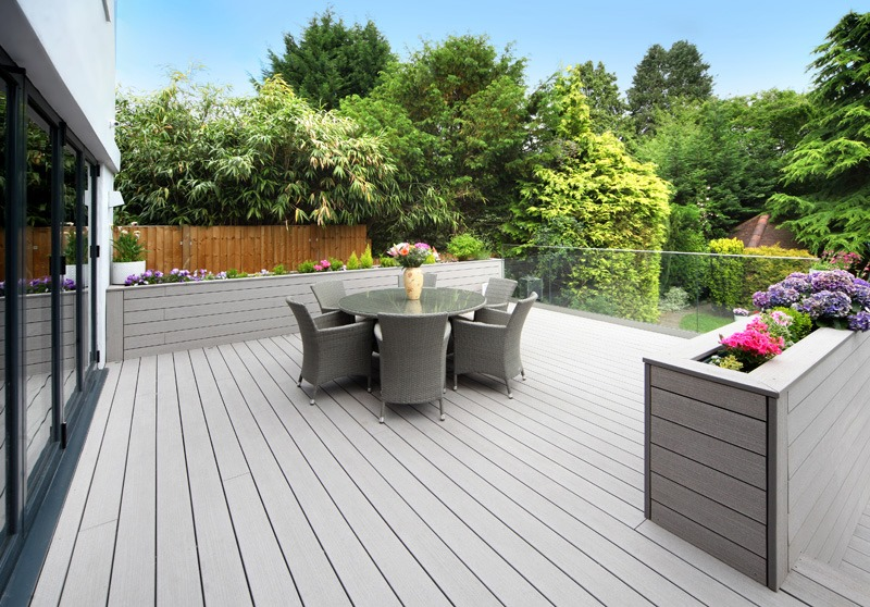 Decking ideas design inspiration for your deck project for Garden decking ideas uk