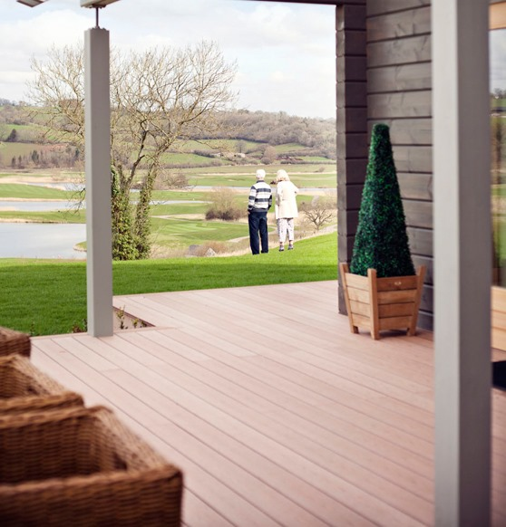 Celtic Manor Decking Image 1
