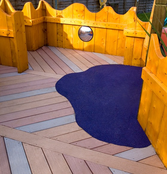 Poole Nursery Decking Image 1