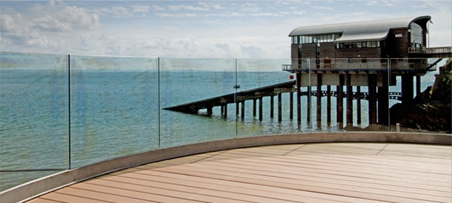 Tenby Lifeboat Station Decking Image 2