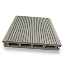 3.6m DeckPlus Brushed Grey Grooved Deck Boards