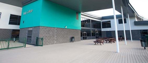 Unity College Burnley VertiGrain Grey