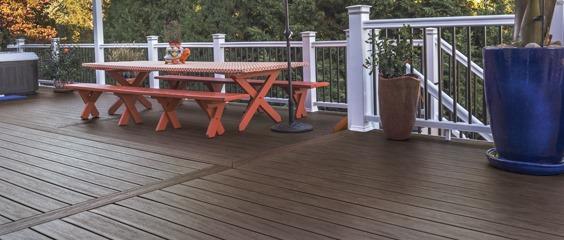 Tigerwood Composite Decking