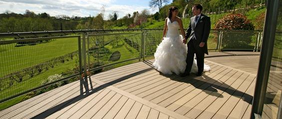 Longhouse Weddings Somerset VertiGrain Chestnut