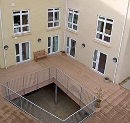 Gibraltar Care Home VertiGrain Cedar