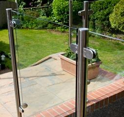 Glass Balustrade No Handrail