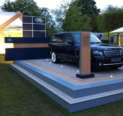 Land Rover Trade Stand VertiGrain Grey