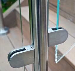 Glass Balustrade Handrail Locking