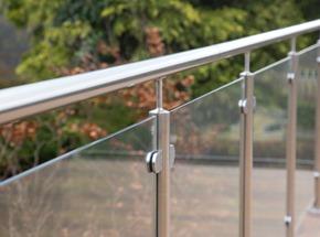Glass Balustrade Handrail