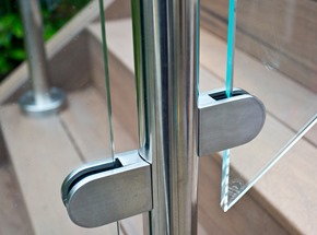 Glass Balustrade Handrail Locking
